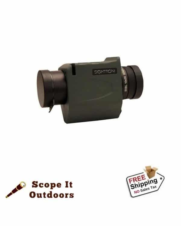 Sightron SII 10x25 Stabilized Monocular - Blue Sky