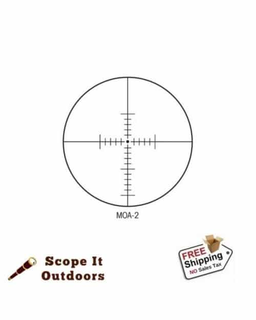 Sightron SVSS 10-50x60mm MOA 34mm Scope
