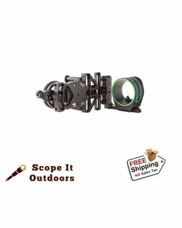 Trijicon AccuPin Bow Sight - AccuDial Mount Left Hand Archery